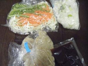 兼業主婦の食材宅配体験談コープデリ簡単料理セットミールキット油淋鶏 材料画像
