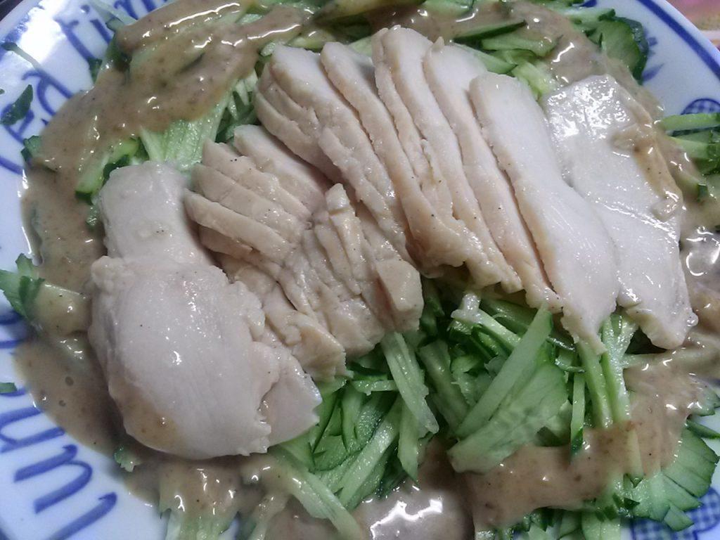 食材宅配パルシステム「までっこ鶏蒸し鶏ペアパック」完成画像