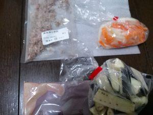 パルシステム 金門飯店の茄子の四川風炒めを作ってみたよ 中身を全部出してみた