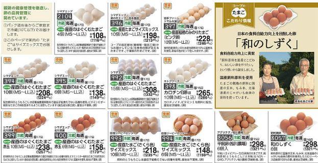 食材宅配コープデリ「卵」へのこだわり