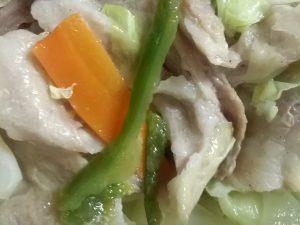 コープデリの産直豚肉とキャベツの蒸し料理セットを作ったよ 簡単料理キットそろってグッド