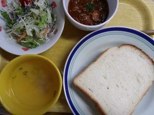 食材宅配コープデリの簡単料理キットミールキット ハッシュドビーフセット完成画像