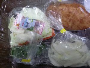兼業主婦の食材宅配体験談 コープデリ簡単料理キット「ミールキット」カツ煮の材料