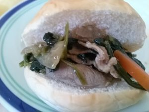 食材宅配コープデリのお米育ち豚とほうれん草のバター醤油炒めをお試し