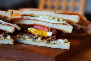 パルシステムの食パンスライス サンドイッチにするとおいしい