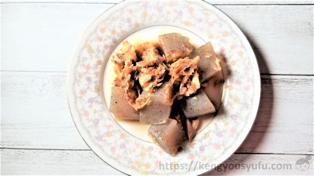 食材宅配パルシステムコアフードこんにゃくとツナのおかか煮