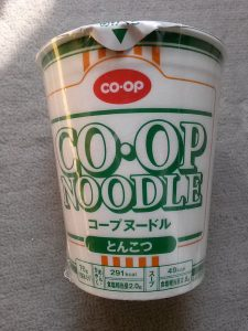 コープヌードル とんこつ味