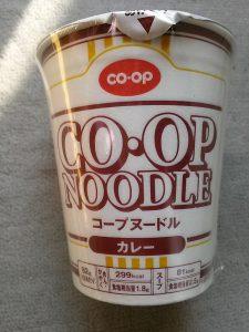 コープヌードル カレー味