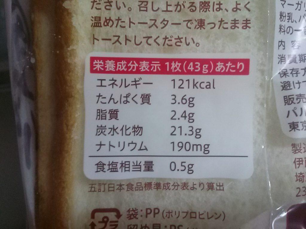 パルシステム 食パンスライスをお試し