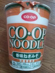食材宅配コープデリ・おうちコープ コープヌードルの香味ネギ味噌味