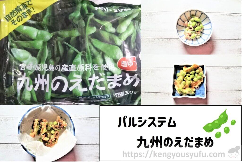 【パルシステム】九州産枝豆 いろいろな料理に使ってみた!