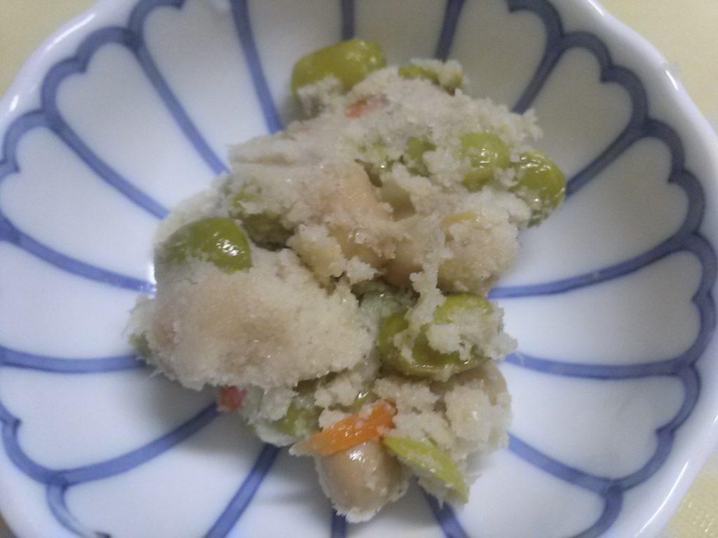 食材宅配パルシステム 豆いっぱい卯の花のお味 中身の画像