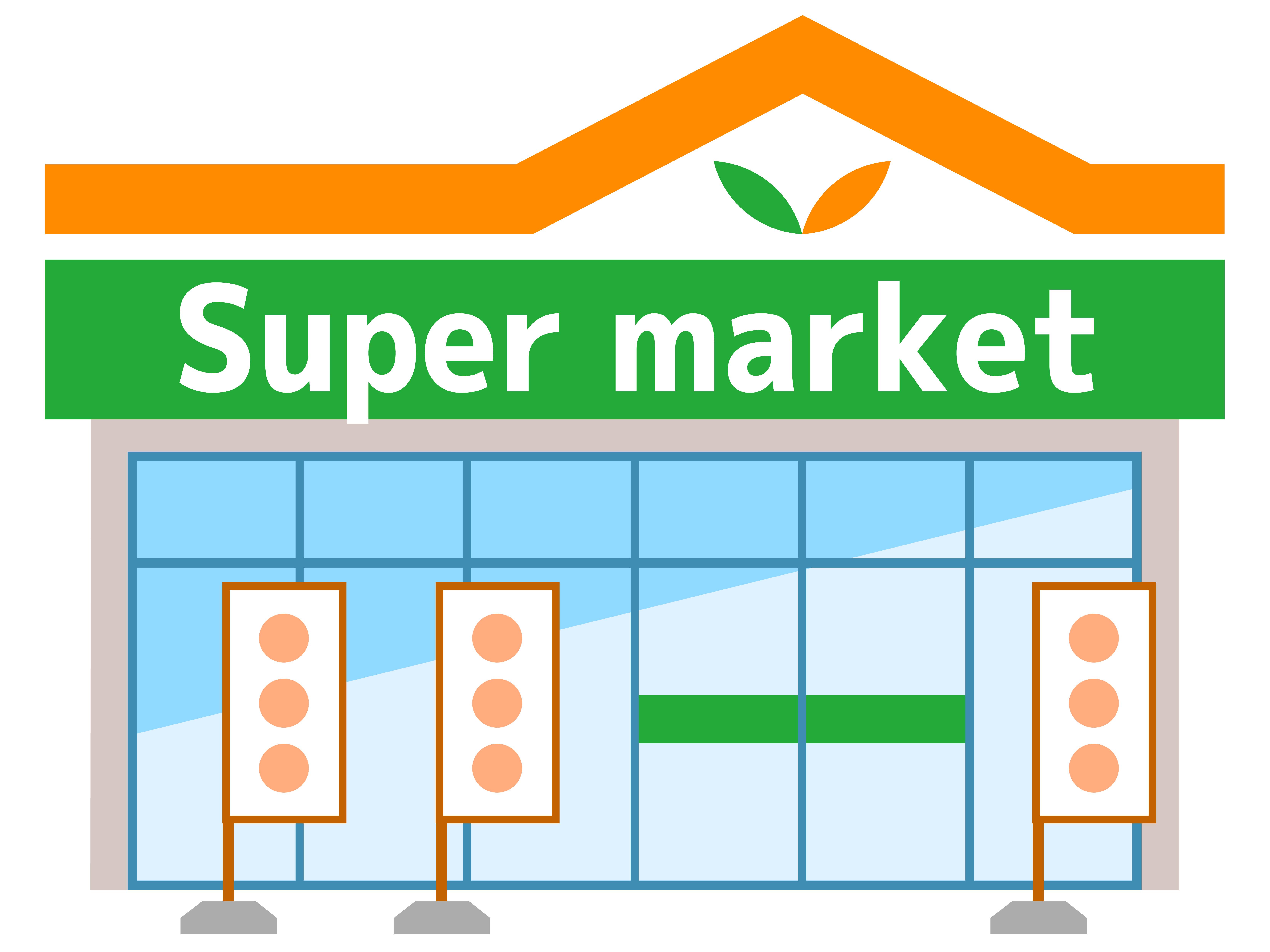 駅前スーパーAは激高い!食材宅配コープデリ・おうちコープのほうが断然安い!スーパーの画像