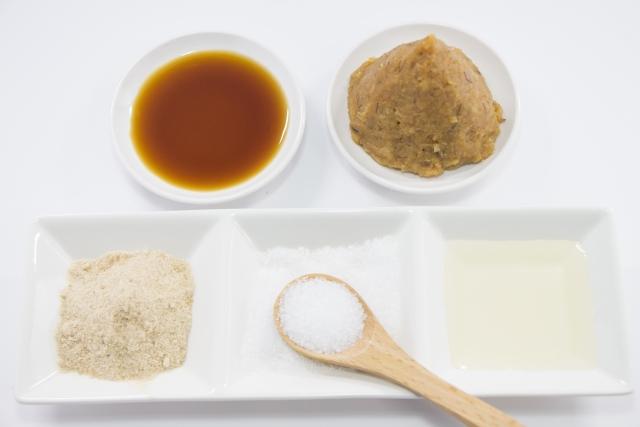 パルシステム「特選丸大豆しょうゆ」調味料のさしすせそ