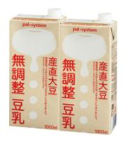 パルシステム 産直大豆無調整豆乳をお試し