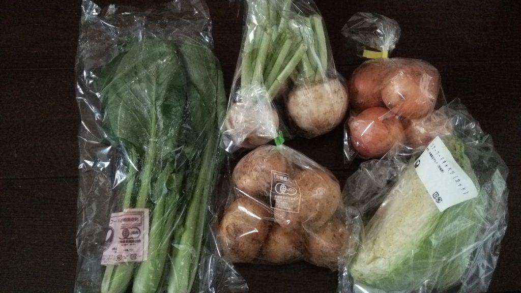 パルシステム コアフード有機野菜セットをお試し!