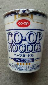 食材宅配コープヌードル とんこつしょうゆ味