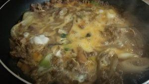 食材宅配コープデリの牛肉と3種きのこの柳川風を作ってみました。柳川風って何?卵でとじる