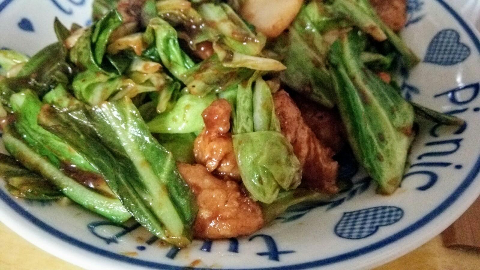 食材宅配コープデリで購入した日本ハムの「豚から揚げとたけのこの甘辛みそ炒め」簡単料理セットを調理してみました!