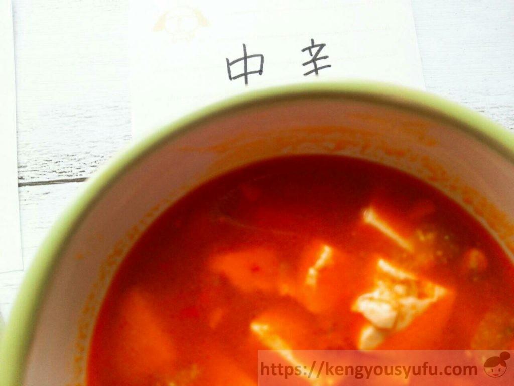 食材宅配コープデリで購入したの麻婆豆腐の素中辛の画像
