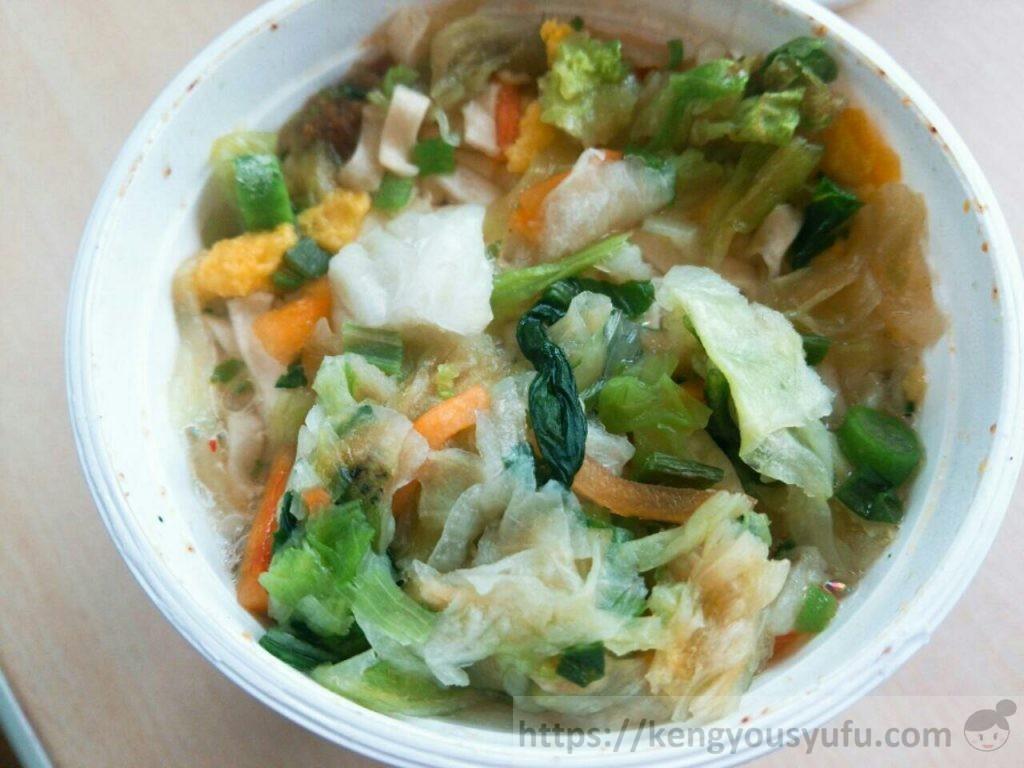 コープ「たっぷり野菜 6種野菜のおうどん」が予想以上においしかった!