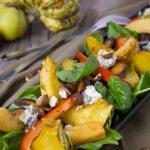 食材宅配パルシステム冷凍栗かぼちゃ アレンジレシピ かぼちゃのサラダ