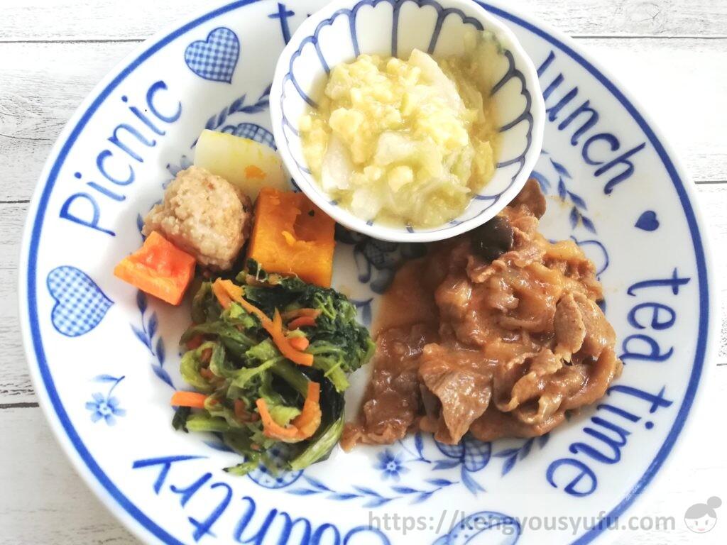 食材宅配ウェルネスダイニング「健康応援食」牛肉の洋風煮込み