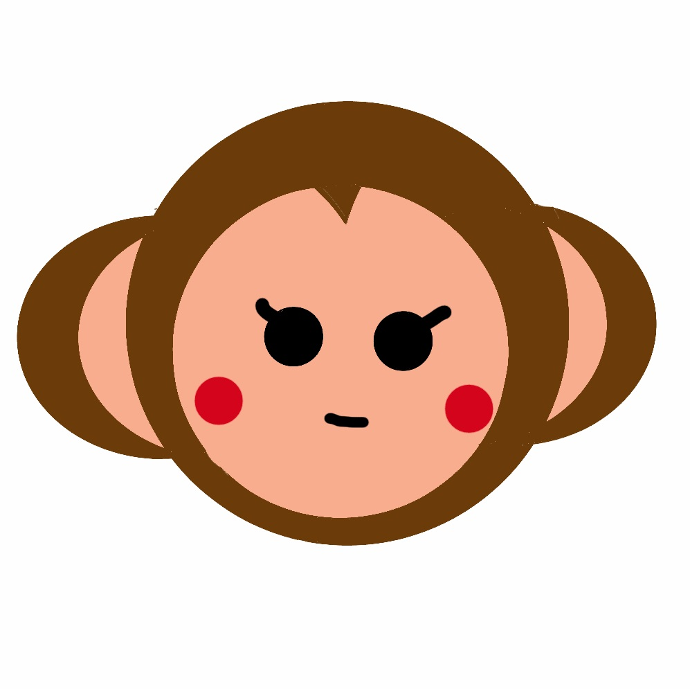 兼業主婦子の第2秘書 お猿さんの画像