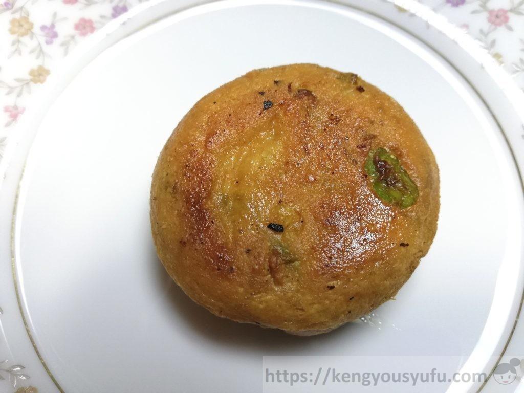 食材宅配コープデリで購入した「枝豆がんも」焼いた画像
