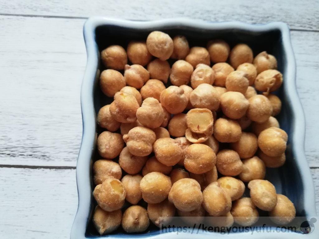 食材宅配コープデリで購入した「おいしい8種のミックスナッツ」ガルバンソー