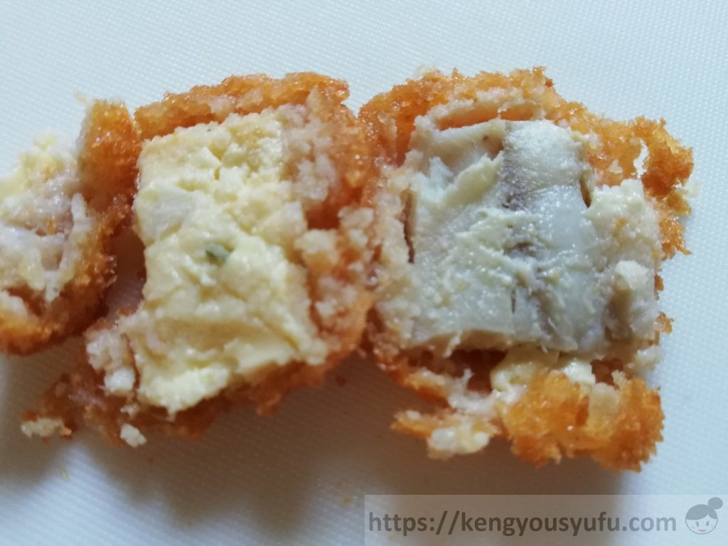 食材宅配コープデリ「白身魚とタルタルソースフライ」中身の画像