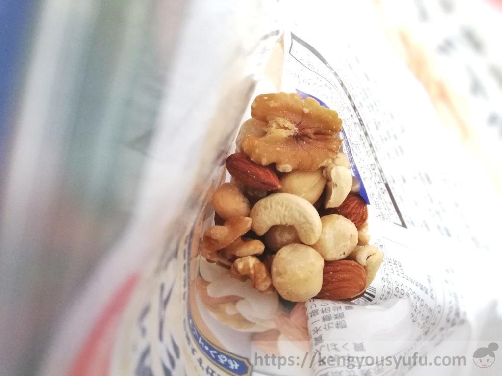 食材宅配コープデリ「食塩不使用マカデミアナッツ」中身の画像