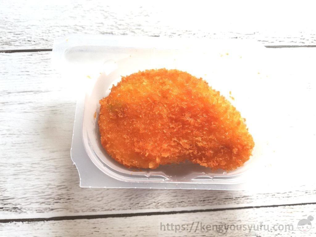 食材宅配コープデリで購入した「プリッとしたえびカツ」解凍後の画像