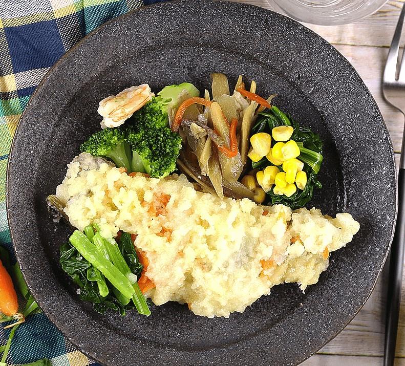 ナッシュ「白身魚の南蛮おろし煮」盛り付けのお手本