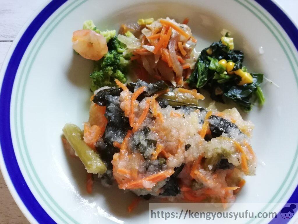 ナッシュ「白身魚の南蛮おろし煮」お皿に盛り付けてみた