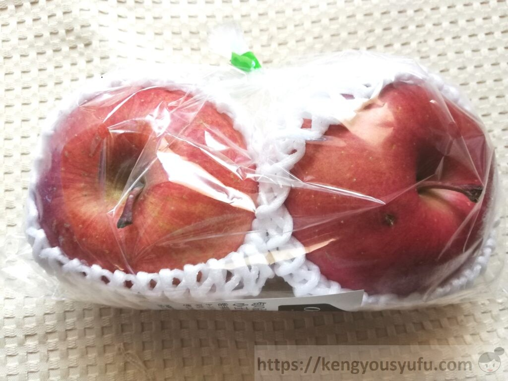 食材宅配有機野菜「オイシックス」小玉りんご