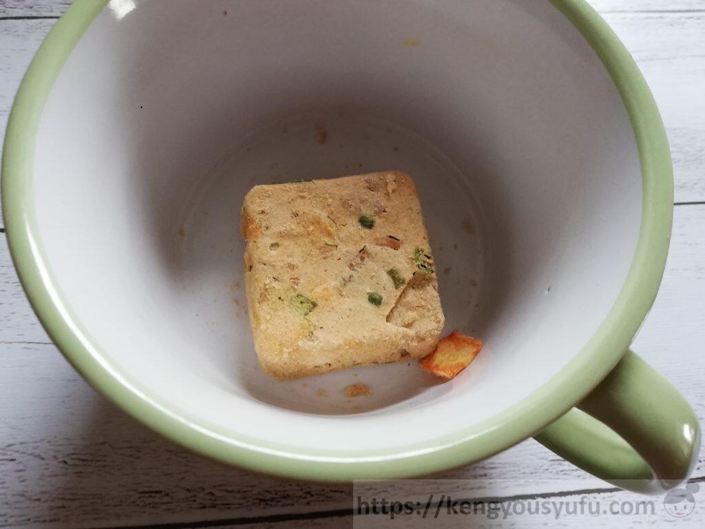 食材宅配コープデリフリーズドライスープ「豚汁」袋から出してみた
