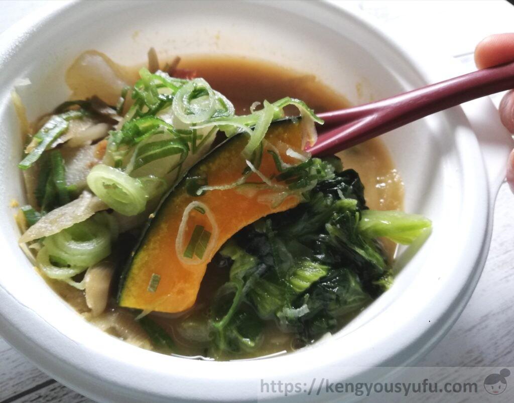 ウェルネスダイニング ベジ活スープ食「豚汁」野菜たっぷり!