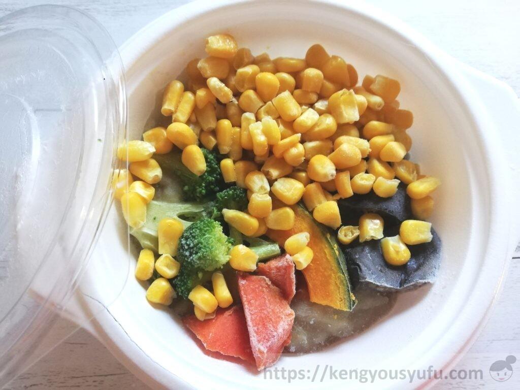 ウェルネスダイニング ベジ活スープ食「うまみ溶け込むミックス野菜」中身の画像